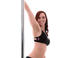 Spider Back Pole Fitness Top