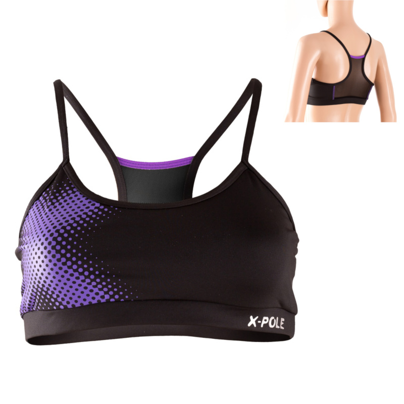 X-Pole Active Mesh Crop Top